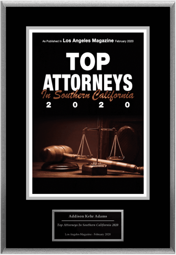 Top Attorneys 2020 Award